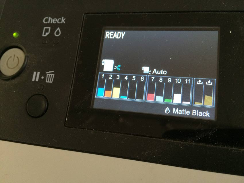 Is the new Epson P9000 printer different?