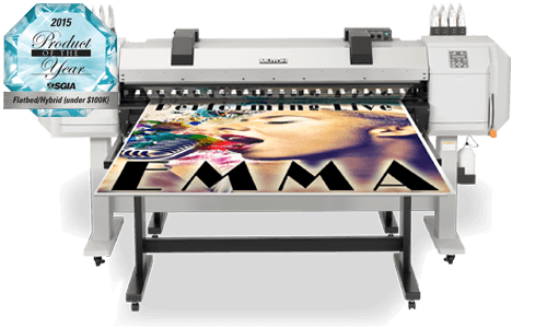 MUTOH ValueJet 1617H - Hybrid Printer Feature Product