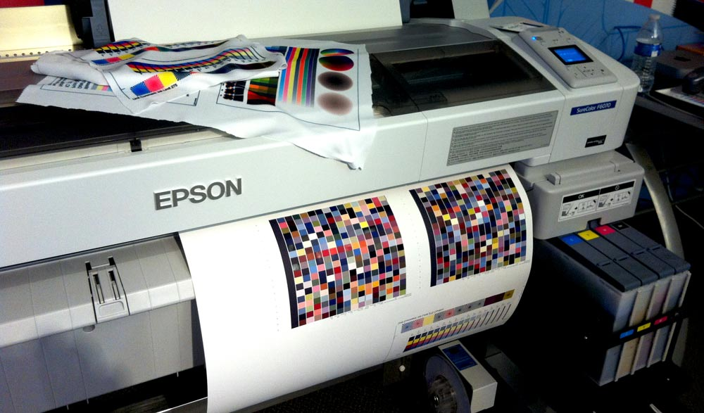 Epson Dye Sub tips for Apparel, Production and Transfer Printing