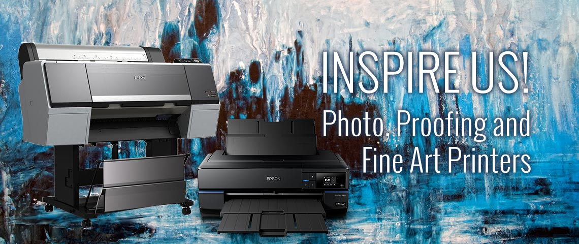 Photo, Proofing and Fine Art Printers