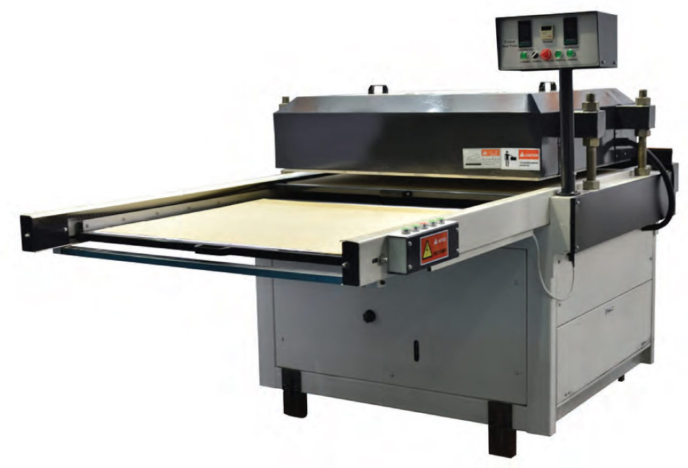 Flatbed Heat Press FOT-S Standard Version for Dye Sublimation