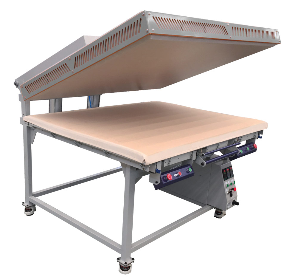Flatbed Heat Press FOT-S Economic Version for Dye Sublimation