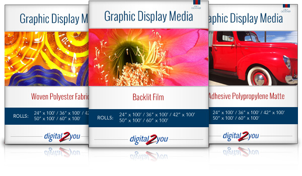 Graphic Display Media Feature Product