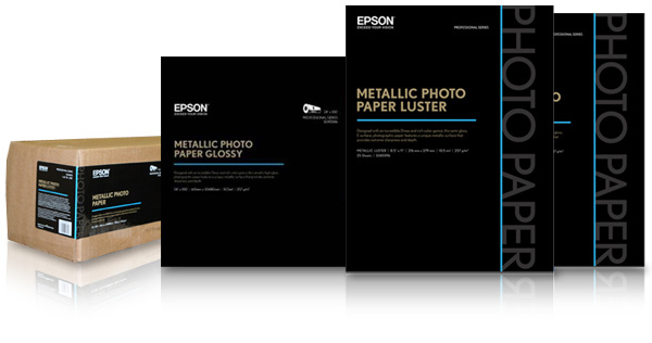 Epson Metallic Photo Paper Luster